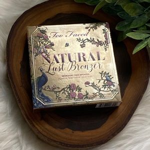 Too Faced Natural Lust Satin Dual Tone Bronzer NWT